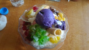 Halo-Halo at Inasal Restaurant Iloilo