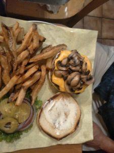 David Papkin cheeseburger